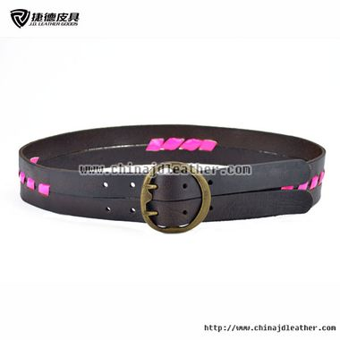 Women Two Pin Leather Belt