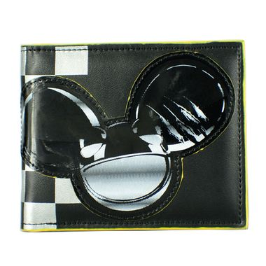Mickey Mouse Printed PU Bifold Wallet