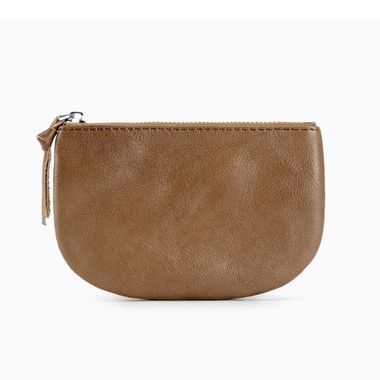 China Direct supplier Cheap Price Woman leather Pouch Bag/Clear Purse