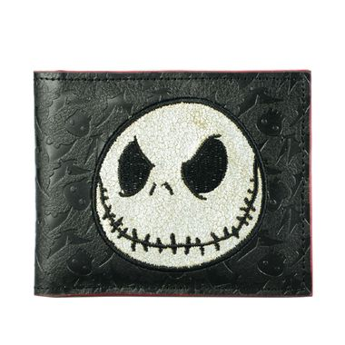 Black Bifold Edge Contrast Painted PU Wallets