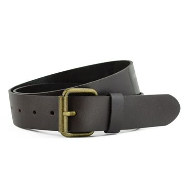 Men Vegetable Tanned Split Leather Belt
