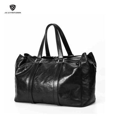 Men Large Capacity Genuine Leather Handbag