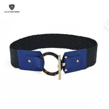 Elastic Webbing Belt for Women