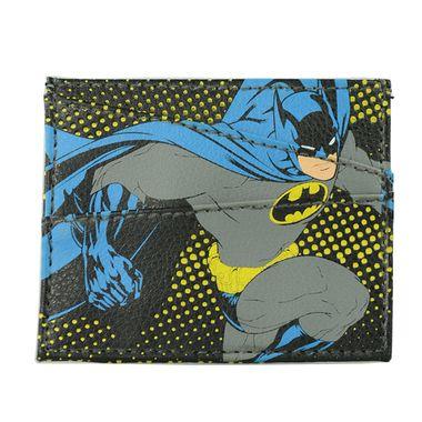 Batman Printed PU Card Case with Clear ID Window