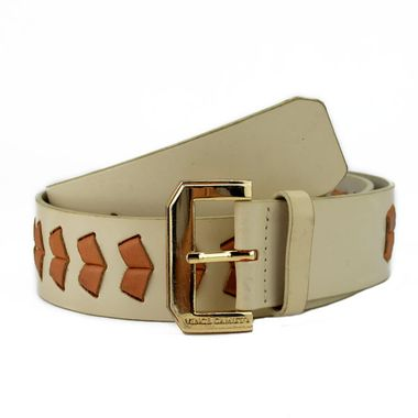 Women Fashionable Belts with Braided Leather Strap