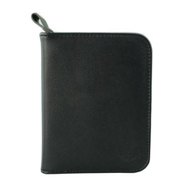 Black PU Zip Around Closure Tool Bag