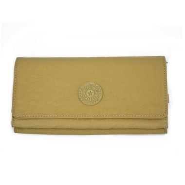 Woman Trifold PU Wallet with Snap Closure