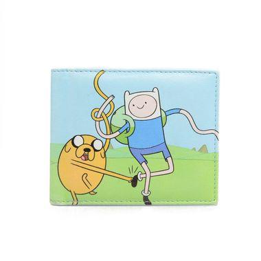 Cartoon Printed PU Bi-Fold Wallet