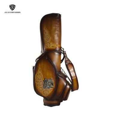 Custom Design Leather Golf Bag