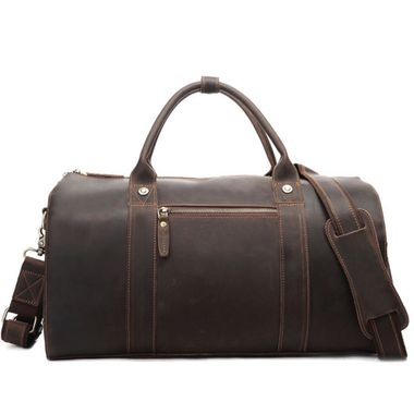 Crazy Horse Leather Luggage Bag