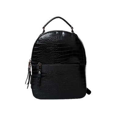Women Crocodile Pattern PU Backpack
