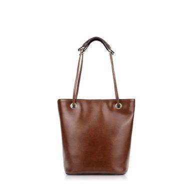 Double Color Oil Wax Leather Woman Unique College Handbags