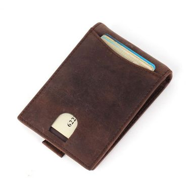 Men's RFID Blocking Leather Money Clip