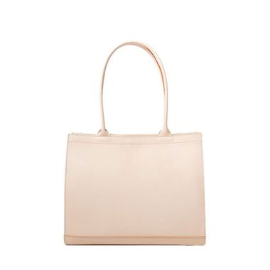 Women's Natural Color Vegetable Tanned Leather Tote Bag