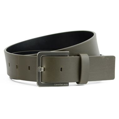 Men Split Leather & PU Belt for Calvin Klein Jeans