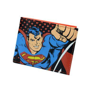 Bifold Superman Printed PU Wallet