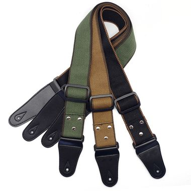 New Fashion Musical Instrument Classical Custom Leather Guitar Strap Accessory