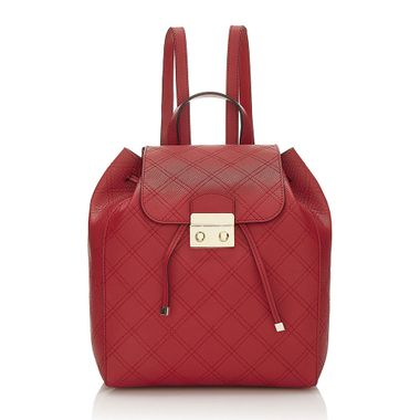 Genuine Leather Casual Daily Woman Backpack