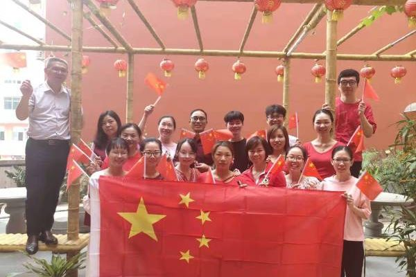 Celebration for China national day!