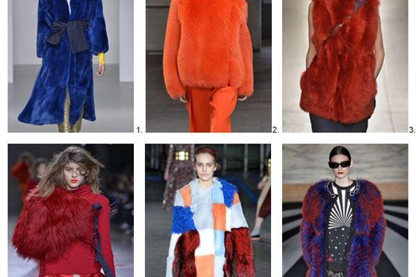 London Fashion Show 2014 Winter Fur Trends